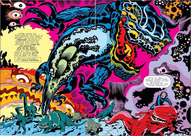 Comics Illustrator of the Week: Jack Kirby