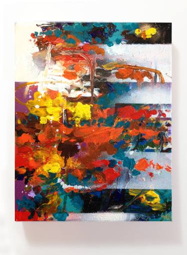 Abstract Artist Tom Glendenning's latest project…