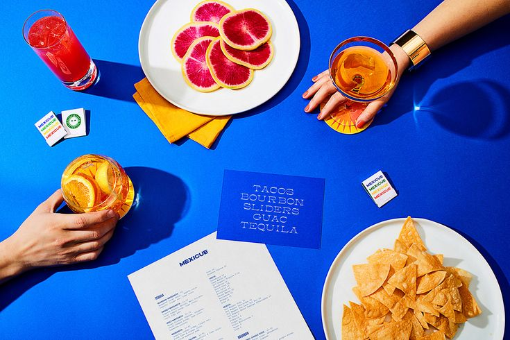 """thedsgnblog: Brand Identity for Mexicue by High Tide """"Mexicue…"""