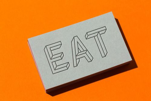 """Brand Identity for EAT Furniture by The Color Club""""EAT Furniture…"""