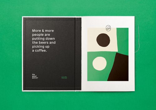 "Brand Identity for The Good Patron by Marx""The Good Patron's…"