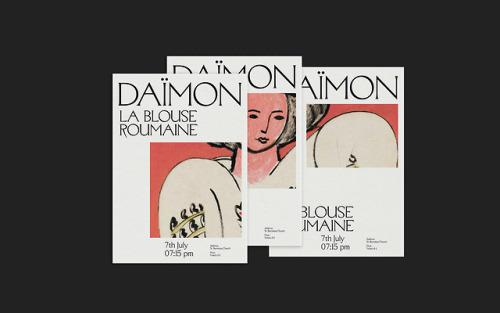 Daïmon.Design by Rafa Garcés and Andrés RosaProject here