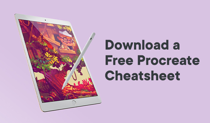 Free Procreate Cheatsheet: A PDF Guide to Brushes, Layers & the Canvas