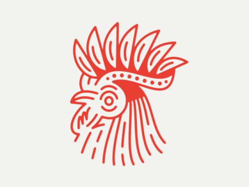 Rooster –https://dribbble.com/haydenwalkerdesign